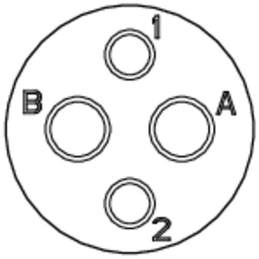 Készülékdoboz - RT360™ sorozat névleges áram: 13 A / 5 A pólusszám: 2x2 RT0714-2SNH Amphenol