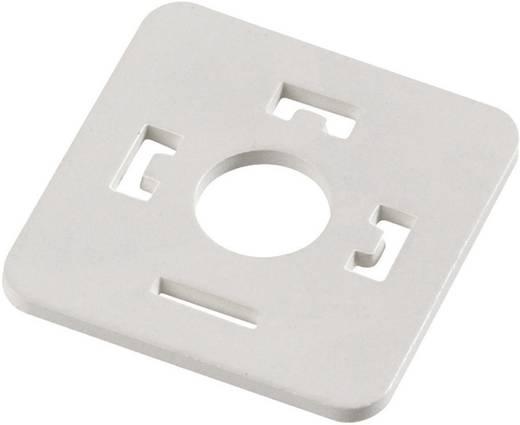 Lapos tömítés mágnesszelep csatlakozóhoz, A kivitel, 210-es sorozat Piros 16-8085-001 Binder Tartalom: 1 db