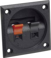 BKL Electronic szorítós hangszórócsatlakozó, 2 pol., 205027 (0205027) BKL Electronic