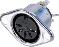 Neutrik NYS325 DIN kerek csatlakozóhüvely Peremes hüvely, egyenes érintkezők Pólusszám: 5 Ezüst 1 db Neutrik