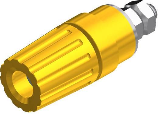Póluscsatlakozó PKI 110 sárga