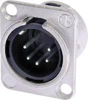 Neutrik XLR beépíthető peremes dugó, 5 pól., NC 5 MDL 1 Neutrik
