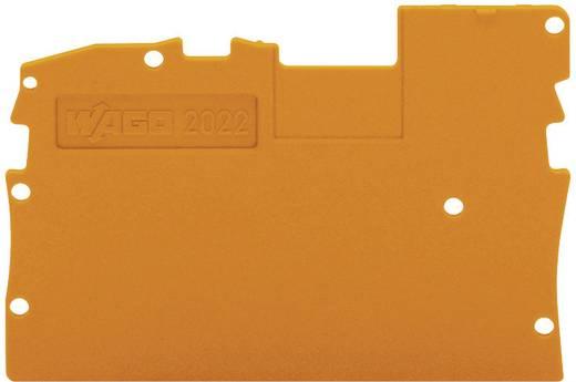 Zárólemez, narancs, 2022-1292