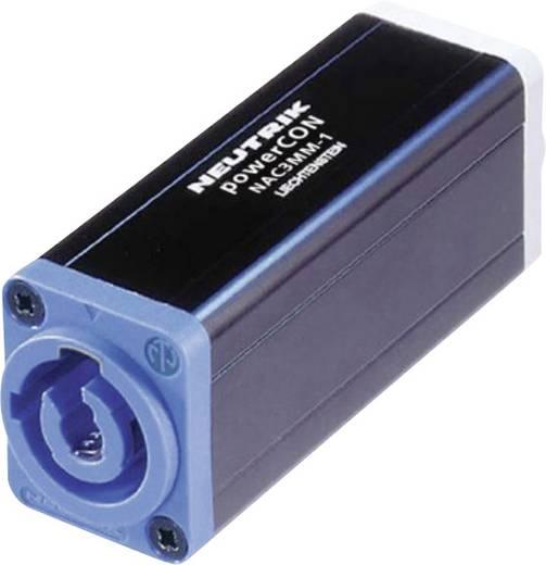 Hálózati adapter, dugó/ dugó, fekete, Neutrik NAC3MM