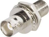 BNC adapter, beépíthető, BNC aljzat - F aljzat, Tru Components (1579504) TRU COMPONENTS