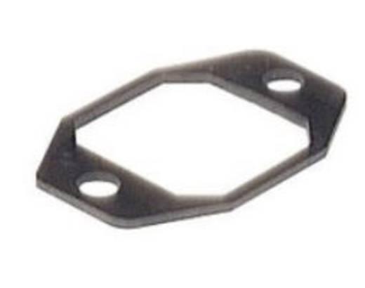 Lapos tömítés beépíthető peremes csatlakozóaljzathoz, fekete, Hirschmann G 30 E-2