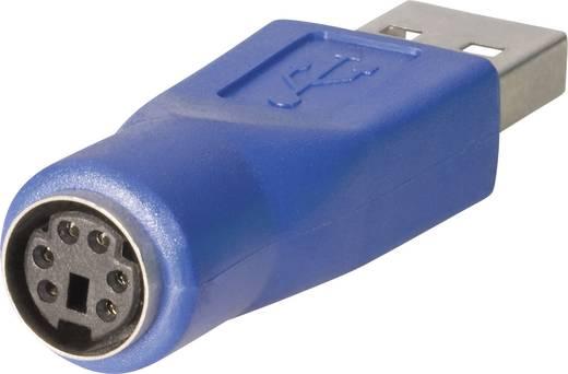 USB-s adapter 10120279 A típusról USB dugóról mini DIN csatlakozóaljra BKL Electronic Tartalom: 1 db