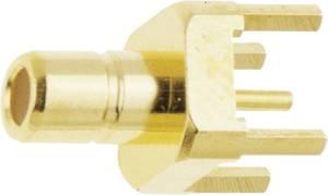 SMB csatlakozó Dugó, beépíthető, függőleges 50 Ω IMS 11.1510.001 1 db IMS