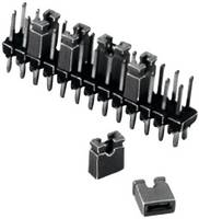 W & P Products 165-201-20-00 Rövidzár híd Raszterméret: 2.54 mm Pólusok száma sorozatonként:2 Tartalom: 1 db W & P Products