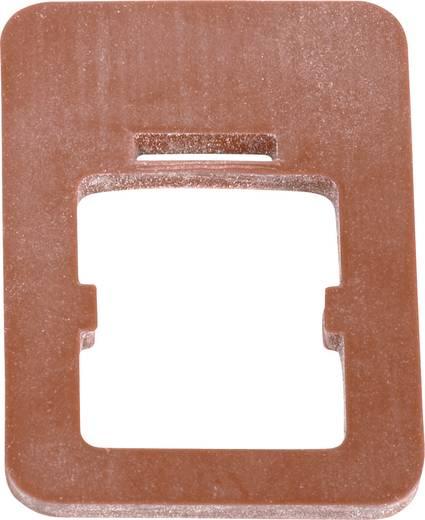 Lapos tömítés, B kivitel, 220-as sorozat Piros 16-8100-001 Binder Tartalom: 1 db
