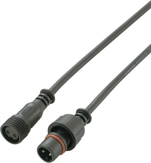 Vízálló dugaszolható csatlakozó, kábellel Pólusszám: 2 Dugó és hüvely 100 cm kábellel mindkét végen. 5 A 1 db