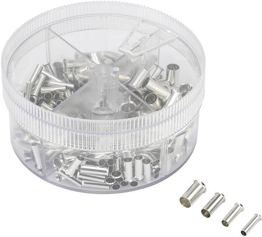 Érvéghüvely készlet, 4 mm² 16 mm² fém Conrad 93014c624 230 db