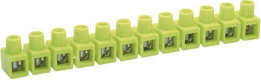 Sorkapocs 12 pólus, 2,5-6 mm², zöld/sárga, Kaiser 663/gegr