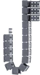 Műanyag E-lánc, E1 sorozat E1.17.021.028.0 igus, tartalom: 1 db igus