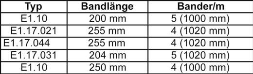Műanyag E-lánc, E1 sorozat E1.20.015.028.0 igus, tartalom: 1 db