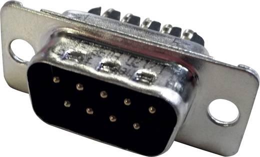 D-SUB tűs kapocsléc 180 ° pólusszám: 9 Csavaros csatlakozó Amphenol 717D E09P ST 1 db