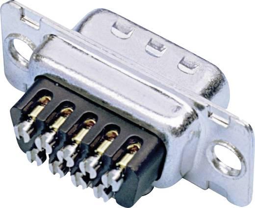 D-SUB tűs kapocsléc 180 ° pólusszám: 15 Csavaros csatlakozó Amphenol 717D A15P ST 1 db