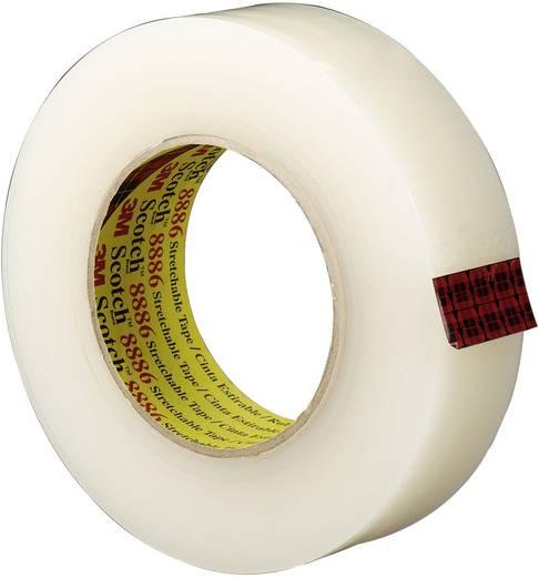 Rugalmas elektromos szigetelőszalag, 55 m x 36 mm, átlátszó, 3M Scotch 8886, 70-0061-5203-0