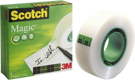 3M SCOTCH® MAGIC 810, átlátszó ragasztószalag, 19 mm X 10 m