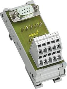 WAGO 289-726 Transzfer modul D-SUB csatlakozó Tartalom: 1 db WAGO
