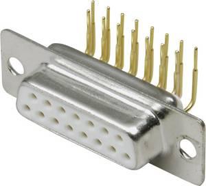 D-sub, NYÁK lapra csatlakoztatható Pólusszám=15 Forrasztható A-DF 15 AA BKL Electronic BKL Electronic