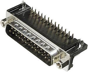 D-SUB csatlakozósor, 9 pólusú nyáklapba szerelhető 9,4MM ASSMANN WSW