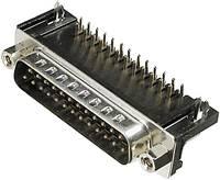Szerelhető D-SUB csatlakozó Pólusszám: 9 Forrasztható TRU COMPONENTSTűs csatlakozó TC-A-DS 09 A/KG-T1-203 TRU COMPONENTS