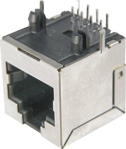 RJ45 beépíthető csatlakozó aljzat, CAT6, 8P8C, vízszintes, ASSMANN AMJ-188-00101-CAT6