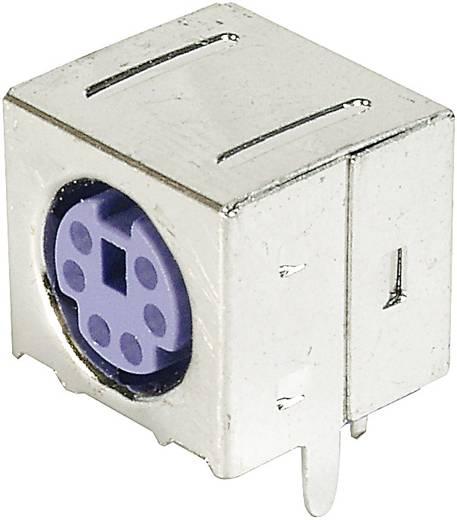Mini DIN beépíthető hüvely ASSMANN WSW A-DIO-FS06/PURPLE