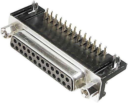 D-SUB hüvelysor 25 pólusú nyáklapra szerelhető 9,4MM
