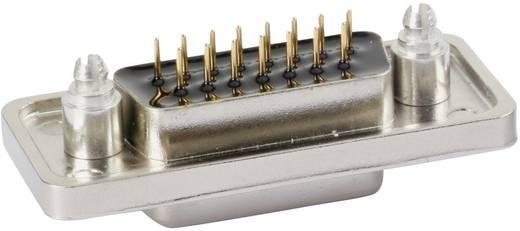 D-SUB tűs kapocsléc 180 ° pólusszám: 15 Nyákos Conec 15-000423 1 db