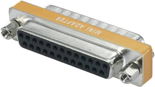 D-SUB null-modem adapter Hüvely/tű Pólusszám=25