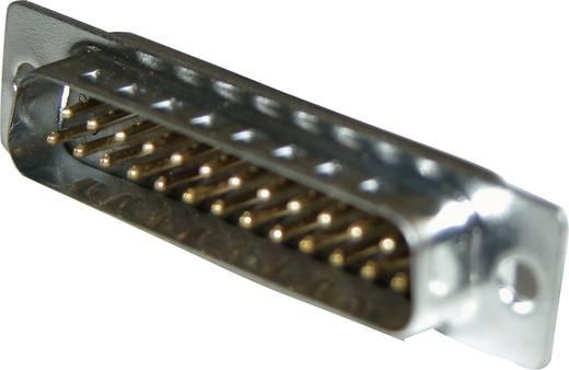 D-SUB dugaszoló csatlakozó sajtolt érintkezőkkel, 717SD B25P