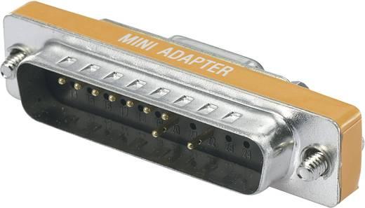 D-SUB adapter, soros Dugó - dugó Pólusszám=9/24