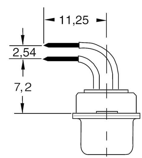 D-sub, NYÁK lapra csatlakoztatható Pólusszám=15 Forrasztható A-DF 15 AA BKL Electronic