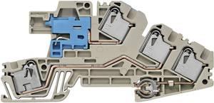 PDL telepítő kapcsok PDL 4 S/NT/L/PE 1837060000-1 Bézs, Kék Weidmüller 1 db Weidmüller