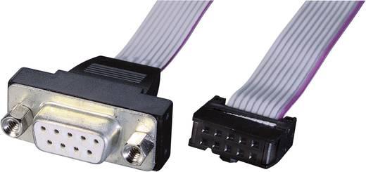 Csatlakozókábel [1x VGA alj - 1x hüvelyes kapocsléc] 0.26 m Szürke