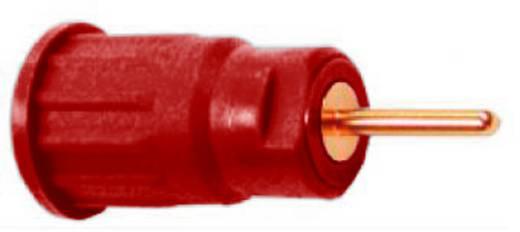 Biztonsági hüvely 4mm piros