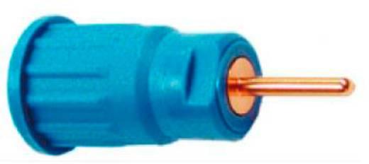 Biztonsági hüvely 4mm kék
