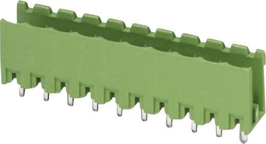 Egyszintes alapház hullámforrasztáshoz Raszterméret: 5 mm Pólusszám: 3 Zöld Phoenix Contact 1753453 Tartalom: 1 db
