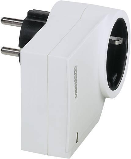 Konnektorba dugható túlfeszültségvédős dugalj, fehér, MNT-1D/WH, Phoenix Contact 2882213