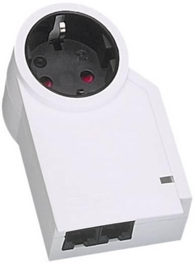 Konnektorba dugható túlfeszültségvédős dugalj + 2 RJ45, fehér, 3 kA, Phoenix Contact 2882349