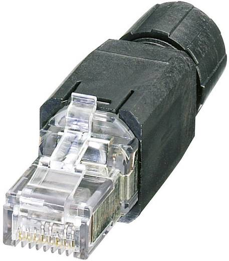 Phonix Contact RJ45 csatlakozó dugó IP20 CAT5e, fekete, VS-08-RJ45-5-Q/IP20