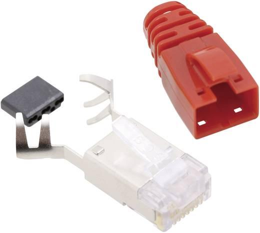 RJ45 csatlakozó, CAT 6 Dugó, egyenes Pólusszám: 8P8C SS39RTE Piros BEL Stewart Connectors Tartalom: 1 db