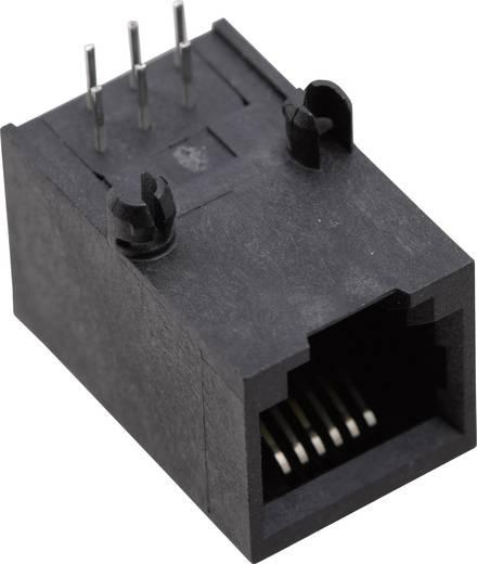 Moduláris beépíthető alj, Pólusszám: 6P6C SS64600-020F fekete BEL Stewart Connectors