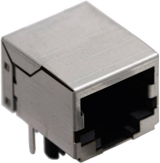 RJ45 beépíthető csatlakozó aljzat, 10P8C, vízszintes, BEL Stewart Connectors SS64100-014F