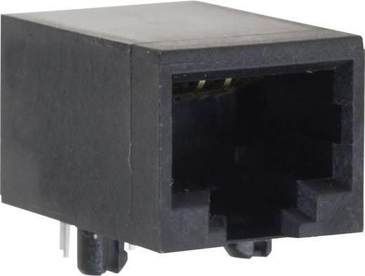 Moduláris beépíthető alj, perem nélkül, hajlított Pólusszám: 8P8C 1414-4000-01 BEL Stewart Connectors
