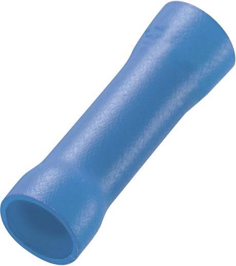 Tru Components teljesen szigetelt roppantós vezetékösszekötő, 1,5-2,5mm², kék, 100 db