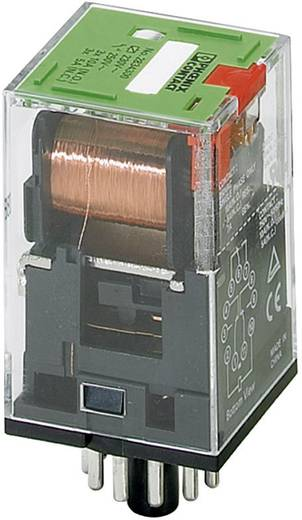 Dugaszolható nyolc kivezetéses relé 3 váltó 12 mA, Phoenix Contact REL-OR-230AC/3X21