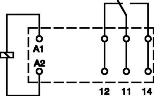 Miniatűr teljesítmény relé 12 V/DC 1 váltó, 16 A 250 V DC/AC 2000 VA, Phoenix Contact REL-MR- 12DC/21HC